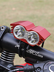 owl x2 2T6 U2 LED Fahrradlicht Fahrradscheinwerfer 4x18650 Satz