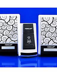 36 Tunes 1 Remote Control + 2 Wireless Doorbell Door Bell Receiver Waterproof D8