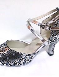 Maßgefertigter Absatz - Glitter - Latin/Salsa/Standard-Tanz Schuhe - Damen