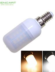 SENCART E14 8W 40 SMD 5730 1200-1600 LM Warm wit / Koel wit T Decoratief LED-maïslampen AC 220-240 / AC 100-240 / AC 110-130 V
