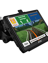 "eDaoZhun HD 7"" GPS Navigation Windows CE 6.0 800MHz CPU /256MB DDR3/Built In 8GB/FM /MP3 /MP4 - Black"
