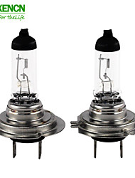 2PCS XENCN H7 12V 65W 3200K Clear Series Off road More Brightness + Long Life Car HeadLight Halogen Auto Lamps