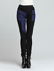 Pantaloni Da donna Skinny Casual Nylon Anelastico