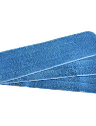 Sinland Microfiber Refill Mop Replacement Cleaning Pads Reveal Mop Household Mop 3 Pack 5.1Inchx17.71Inch Blue