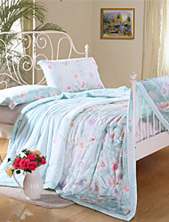 Patchwork tencel floral Sommer Quilts Queen-Size-