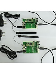 2.4g02 draadloze audio-zender-ontvanger modules, testen& Development Board, adapter, audio kabel en in-ear stereo