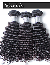 3 pcs/Lot Virgin Peruvian Deep Wave Hair, Hair Weave Wholesale Virgin Peruvian Hair