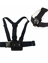 Gopro Accessories Chest Harness / Front Mounting / Tripod / Screw / Suction Cup / Straps / Mount/HolderFor-Action Camera,Gopro Hero1 /