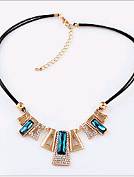 Foreign Trade Hot Selling Popoluar Rhinestone Crystal Necklace