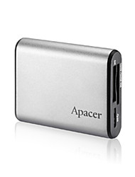 Apacer ALL in One Card Reader AM 531 MicroSDHC SDHC CompactFlash Memory Stick Micro