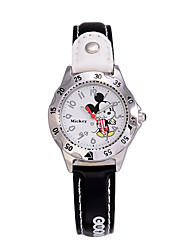 Children's Assorted Colors Fashion Cartoon Dial High Quality PU Band Japan Quartz Movement Wristwatches Cool Watches Unique Watches