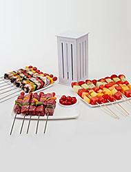 brochette expressa fabricante kabob kebab cortador 16 espetos