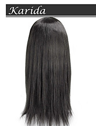 14-26 inch 100% Human Hair Silk Top Full Lace Wigs