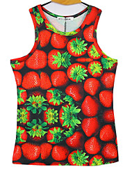 Vest male Men's Casual/Work Round Sleeveless Vests (Cotton Blend)