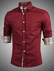 Men's Fashion Business Long Sleeve Shirt