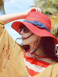 Women Basketwork Hats With Special Occasion/Casual Headpiece(More Colors)