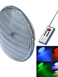jiawen® PAR56 40W RGB levou luz subaquática (1xled luz subaquática + controlador 1xremote (bateria não incluindo)) (ac 12 v)