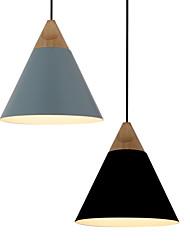Lustre/Lampe suspendue - Contemporain/Traditionnel/Classique/Rustique/Tiffany/Vintage/Rétro/Lanterne - avec Style mini - Métal