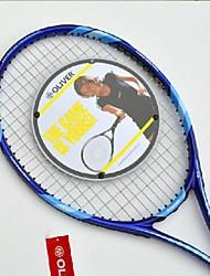 Las raquetas de tenis ( Gris/Azul Oscuro/Morado , Aleación de aluminio y carbono ) -Impermeable/Buena aerodinámica/Alta