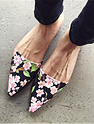 Women's Shoes Flat Heel Pointed Toe Slippers Casual Multi-color