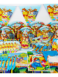 78pcs Winnie the pooh Baby Birthday Party Decorations Kids Evnent Party Supplies Party Decoration