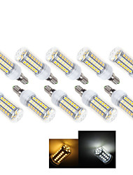 10 Stücke Ding Yao E14 7 W 49 X SMD 5050 490-600 LM 2800-3500/6000-6500 K Warmweiß/Kühlweiß Maisförmige  Glühbirnen AC 220-240 V