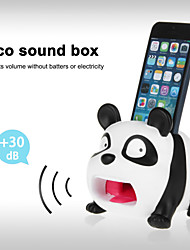 Cute Hands-Free Panda Sound Amplifier Stand Speaker Holder for iPhone 4/4S/5/5S/5C