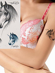Lovely Lively Unicor Tattoo Stickers Temporary Tattoos(1 Pc)