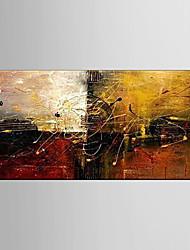 pittura ad olio quadri astratti mano tela dipinta con allungata incorniciata