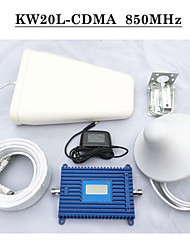 850MHz Repeater UMTS 850 Cell Phone Signal Booster Repetidor De Sinal De Celular GSM 850 Mobile Signal Repeater Kits