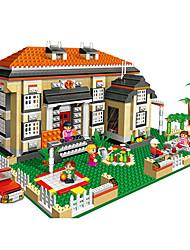 banbao blocs assemblés briques de jouets 1 jouets modèle éducatif de 1100pcs les cadeaux de 3 MAISON DE VILLE enfants