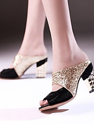 Women's Shoes Chunky Heel PeepToe  Sandals / Slippers More Colors available