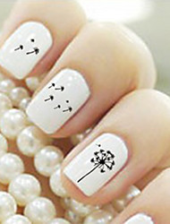 Lovely Water Transfer Printing Nail Stickers