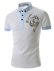 Happyboy Factory direct supply 2015 new men's casual short sleeved  shirt men's Embroidery