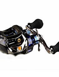 Sharp Cat II Brand Low Profile Baitcasting Reel DM120LE 12+1BB