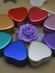 Frosted Heart-shaped Candy Boxes(Set of 6 Optional Colors)