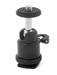 mengs® Mini 360 degrés de rotation tête sphérique pour appareil photo reflex numérique / reflex trépied, moniteur lcd, support de flash de