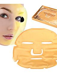 10 pièces chaudes collagène bio masques anti-vieillissement anti rides soins de la peau blanchissant masque hydratant visage