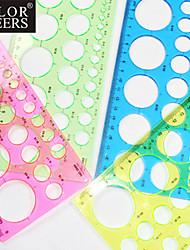 l'art de la fabrication du papier quilling modèle rond - 4 couleur aléatoire