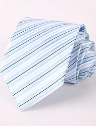 The Blue Pinstripe Suit Tie