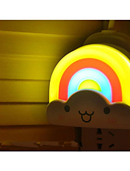 DIY Wall Stick Night Light Rainbow Light Battery Energy-Saving LED Night Light
