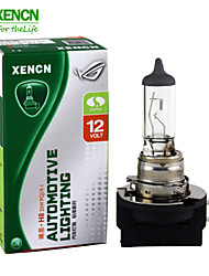 2PCS XENCN H8B 12V 35W 3200K Clear Series Standard Halogen Fog Lamp