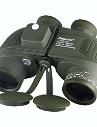 Boshile 10X50 mm Binoculars Waterproof Roof Prism Night Vision in Low Light BAK4 Fully Multi-coated 132/1000 Central Focusing