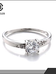 unique new style aaa glitter zircon bridal ring for women