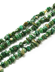 "Beadia Fashion Afican Jade Stone Beads 5-8mm Irregular Shape DIY Loose Beads Fit Necklace Bracelet Jewelry 34""/Str"