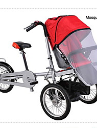 "Whole Set 16""Pushchair Stroller +1 Mosquite Net+1 Rain Cover+1 Side Bag Ruituo™ 3 Wheels Folding Bike"