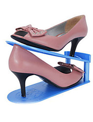 One PCS Fashion Multi-function Adjustable Plastic Storage Shoes Rack & Hanger 25.5*9*15 CM