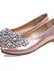 Women's Shoes Flat Heel Pointed Toe Flats Casual Pink/Silver/Gold