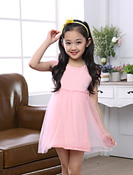 Kid's Casual Dresses (Chiffon)