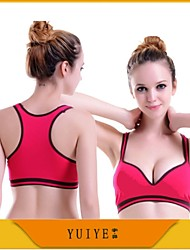 YUIYE® Women Firm Body Shaper Sport Bra Slimming Seamless Underwear Genie Bra For Yoga Breast Push-Up